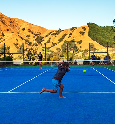 Cable Bay - Tennis Court